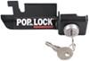 Pop & Lock Custom Tailgate Lock for Steel Tailgate Handle - Manual - Black Black PAL2300