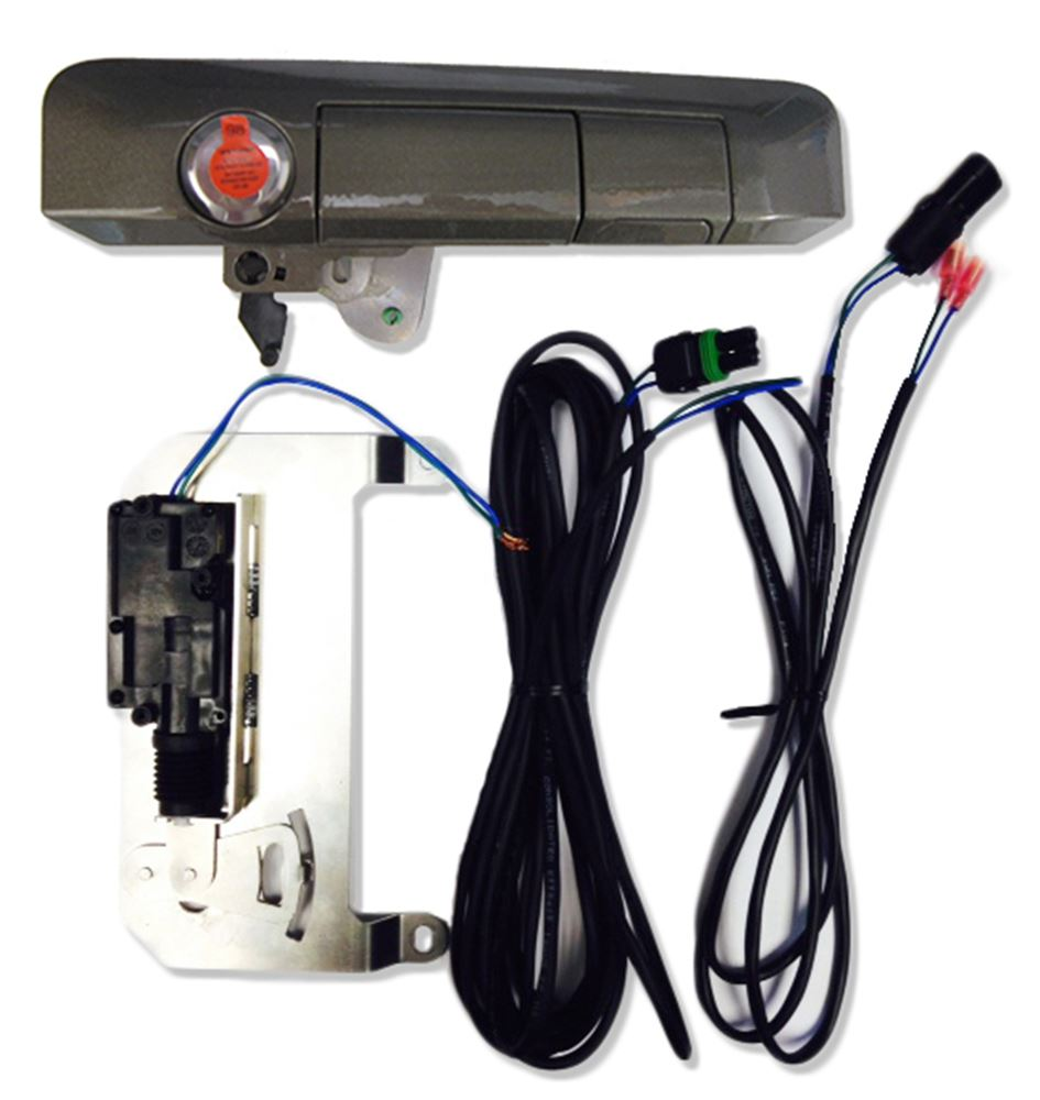 PAL85406 - Vehicle Specific Pop and Lock Tailgate Lock