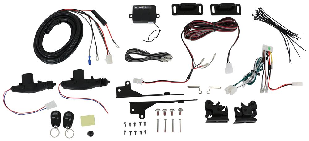 Pop & Lock Power Pop Remote Keyless Entry Kit for Hard Tonneau Covers PAL9000