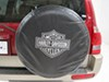 0  rv covers plasticolor tire and wheel harley-davidson spare cover - water resistant 27 inch to 31 tires black silver