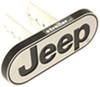 """Jeep Logo Trailer Hitch Cover - 1-1/4"""" and 2"""" Hitches - Aluminum Jeep PC002258R01"""