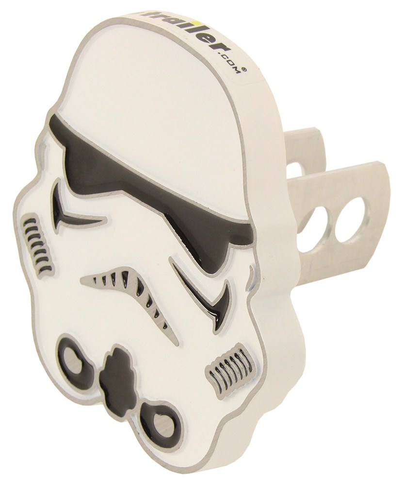 "Star Wars Stormtrooper Trailer Hitch Cover - 1-1/4"" and 2"" Hitches - Aluminum Emblem PC002280R01"