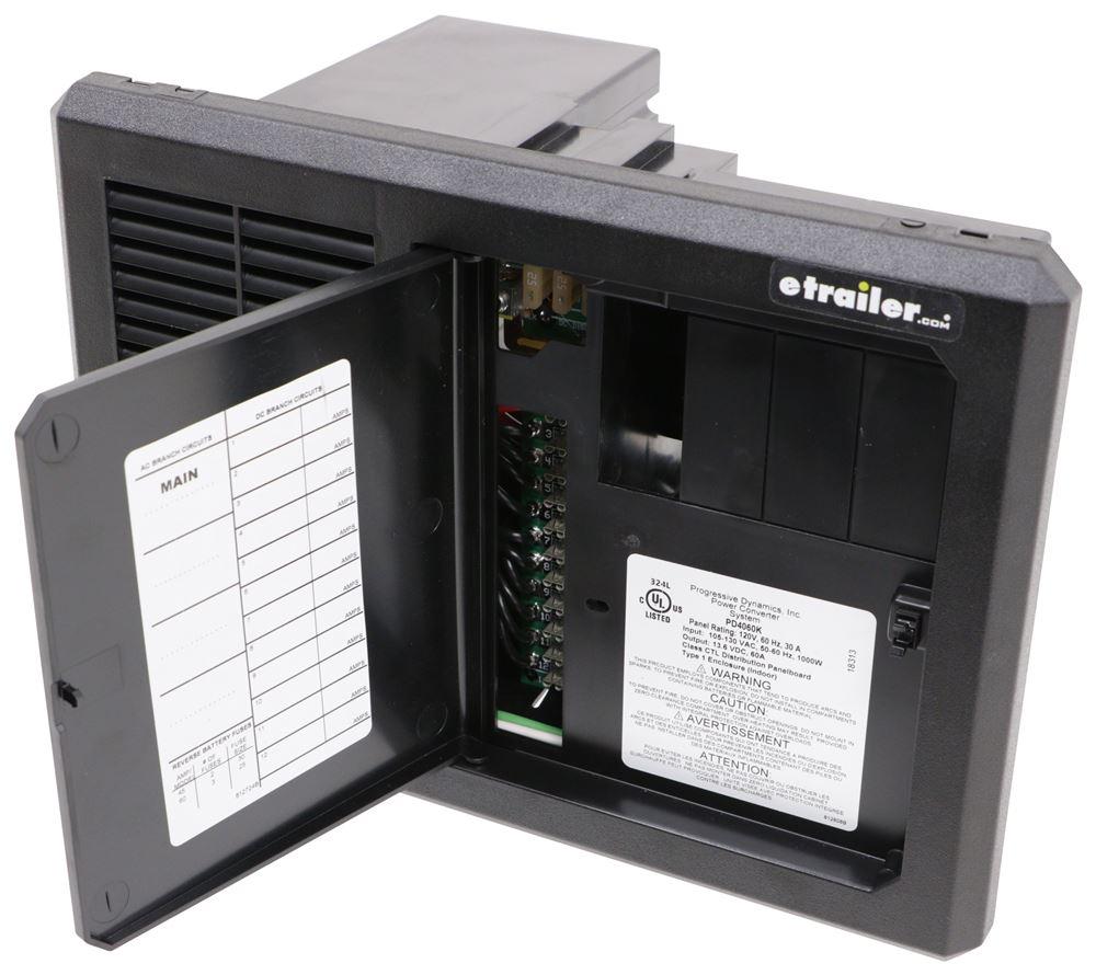 Progressive Dynamics Mighty Mini Ac  Dc Panel And Converter