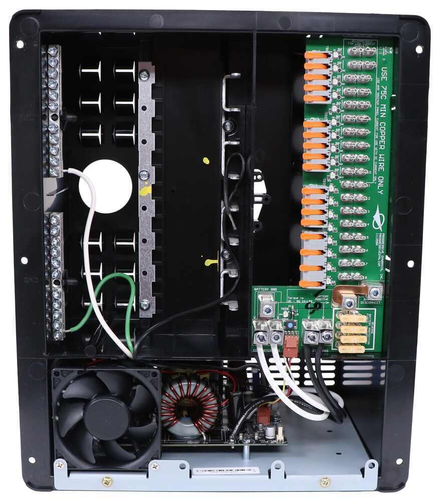 Progressive Dynamics Rv Power Control Center With Ac  Dc