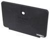 Replacement Lockable Door for Phoenix Faucets Exterior RV Shower Box - Black Black PF267002