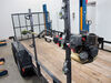 0  trimmer racks packem utility trailer pre-drilled holes pack'em rack for open trailers - holds 3 trimmers 1 blower line spool cooler