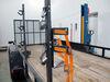 0  trimmer racks packem utility trailer pack'em rack for open trailers - holds 3 trimmers 1 blower line spool cooler