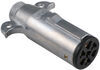 pollak wiring  7 round heavy-duty 7-pole pin trailer connector - end