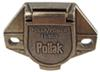 PK11851 - 1 Round Pollak Trailer Connectors