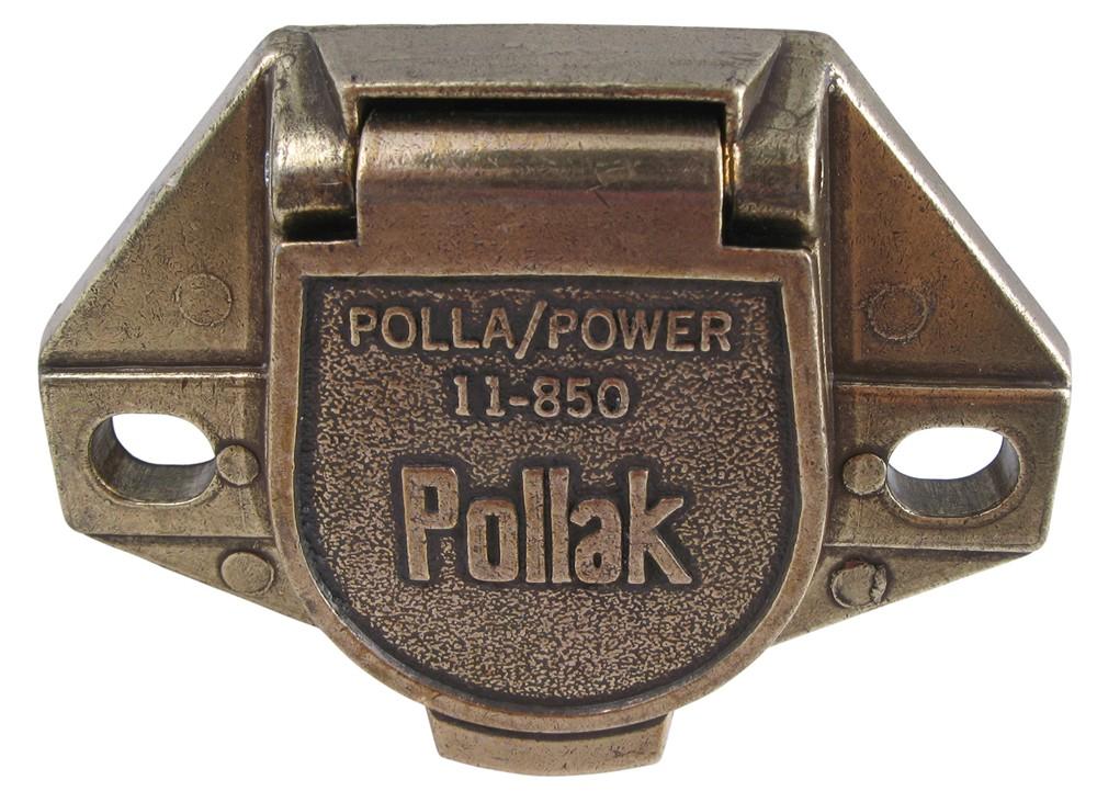 PK11851 - 1 Round Pollak Trailer Connectors
