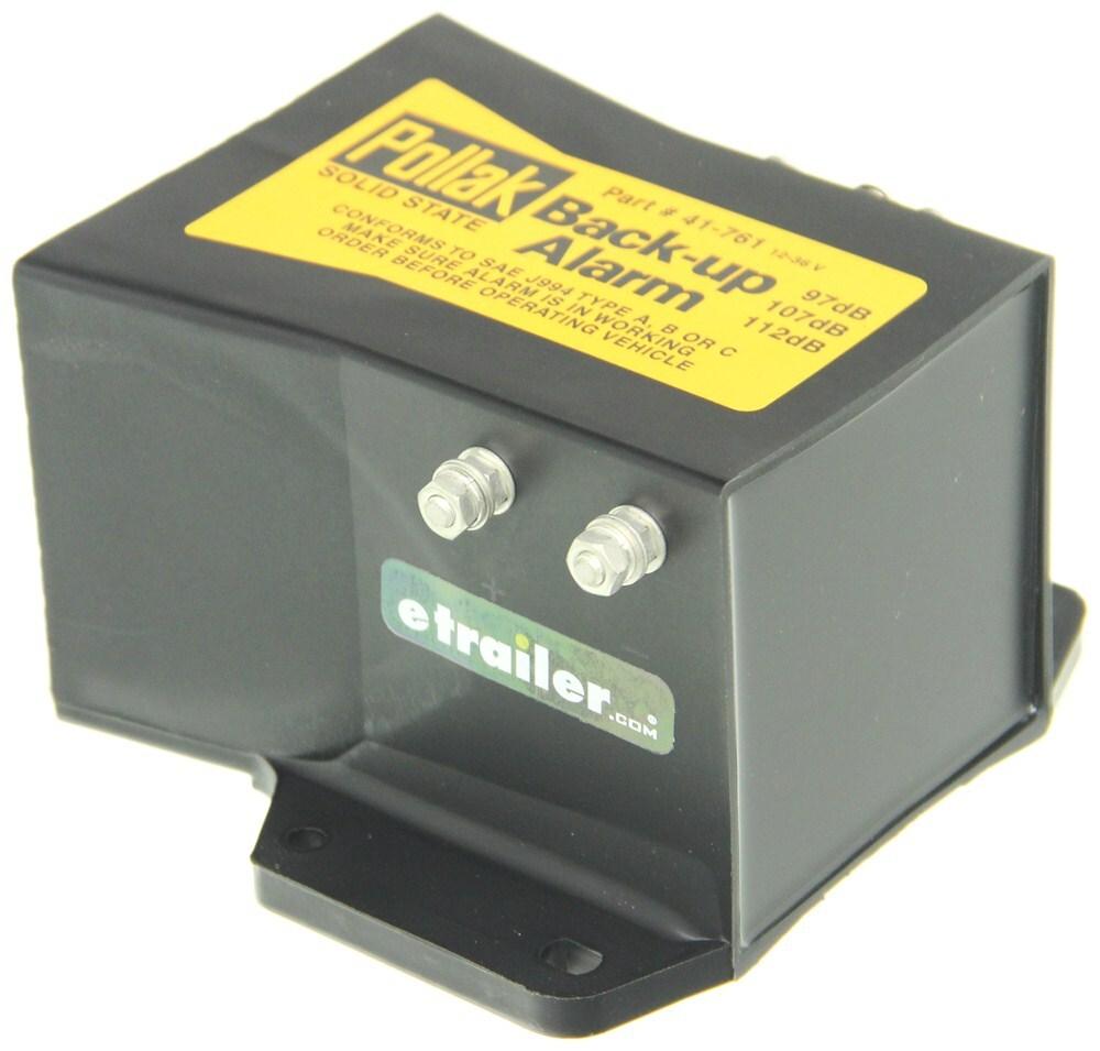 Pollak Heavy-duty Back-up Alarm - 9-24 Volts