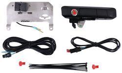 Smart Lock Combo Pop /& Lock PL85513 Black Sand Pearl Power Tailgate Lock for Toyota Tacoma