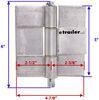 polar hardware trailer door hinges removable pin 5 inch long hinge plr1005