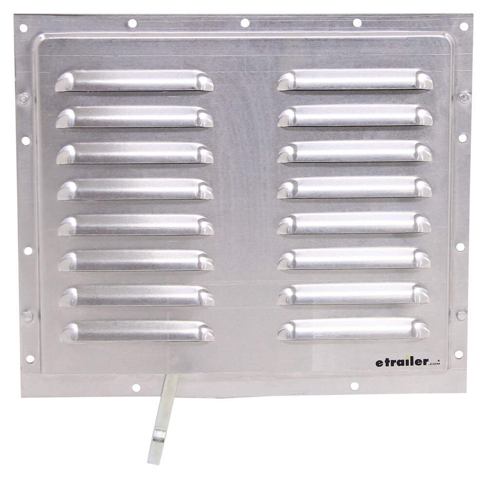 "Vent for Enclosed Trailers - Aluminum - 12-1/4"" Wide x 10-1/2"" Tall Ventilator PLR20"
