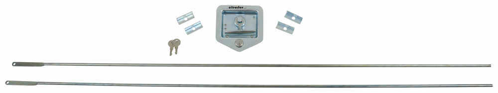 T-Handle Latch - Zinc Plated Handle PLR5710