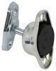 "Plunger and Rubber Socket Door Holder - 1-3/4"" Long Plunger 2-1/2 Inch Hole Spacing PLR62-66"
