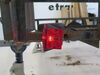 """Peterson Tail Light for Trailers Over 80"""" Wide - 6 Function - Square - Passenger Side 6L x 4-1/2W Inch PM444"""