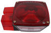"""Peterson Tail Light for Trailers Over 80"""" Wide - 7 Function - Square - Driver Side Incandescent Light PM444L"""