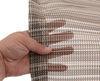 prest-o-fit rv rugs outdoor aero-weave rug w/ storage bag - 6' x 15' brown