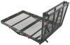 """32x48 Reese Steel Solo Cargo Carrier and Folding Ramp for 2"""" Hitches - 400 lbs 32 Inch Wide PS10401-10402"""