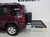 """32x48 Reese Solo Cargo Carrier for 2"""" Hitches - Steel - 400 lbs Fixed Carrier PS1040100 on 2002 Jeep Liberty"""