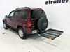 """32x48 Reese Solo Cargo Carrier for 2"""" Hitches - Steel - 400 lbs Fits 2 Inch Hitch PS1040100 on 2002 Jeep Liberty"""