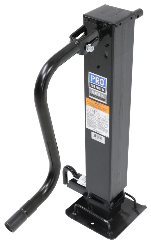 "Pro Series Square Jack - Drop Leg w/ Non-Spring Return - Sidewind - 26"" Lift - 10,000 lbs Fixed Mount Jack PS1400980376"