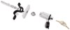 """Pro Series Lock-Tite Anti-Rattle Trailer Hitch Receiver Lock for 2"""" Hitches Chrome PS63100"""