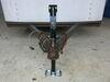 0  trailer jack pro series a-frame sidewind round w/ external gearbox - 14 inch lift 2 000 lbs