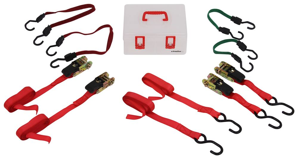 Performance Tool 4 Straps Ratchet Straps - PTW1417