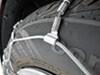 Glacier Tire Chains - PW1034 on 2013 Volkswagen Passat