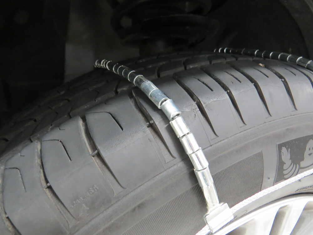 TireChain.com 215//60R17 215//60-17 Cable Tire Chains w//Duffle Bag