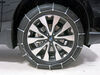 Glacier Cable Snow Tire Chains - 1 Pair No Rim Protection PW1046 on 2016 Subaru Outback Wagon
