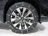 Glacier Steel Rollers Over Steel Tire Chains - PW1046 on 2016 Subaru Outback Wagon