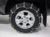 Glacier Cable Snow Tire Chains - 1 Pair Steel Rollers Over Steel PW2021C on 2010 Toyota Tacoma