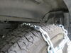 PWE3229SC - Steel Square Link pewag Tire Chains on 2020 Ram 1500