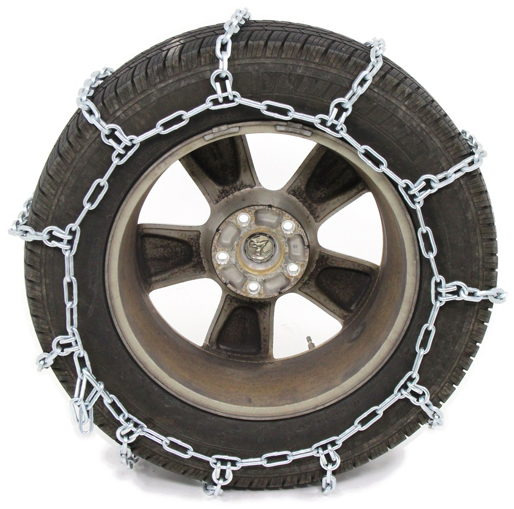 Pewag All Square Snow Tire Chains for Wide-Base and Dual Tires - 1 Pair Not Class S Compatible PWE3231S