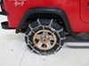PWH2816SC - On Road Only Glacier Tire Chains on 1995 Jeep Wrangler
