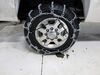 Glacier V-Bar Snow Tire Chains with Cam Tighteners - 1 Pair Not Class S Compatible PWH2828SC on 2014 Chevrolet Silverado 2500