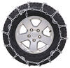 Glacier V-Bar Snow Tire Chains with Cam Tighteners - 1 Pair Deep Snow,Ice PWH2828SC