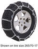 PWH2828SC - No Rim Protection Glacier Tire Chains