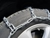 Glacier Alloy Square-Link Snow Tire Chains - 1 Pair No Rim Protection PWPLC1142 on 2014 Toyota Sienna