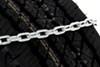 Glacier Alloy Square-Link Snow Tire Chains - 1 Pair No Rim Protection PWPLC1144