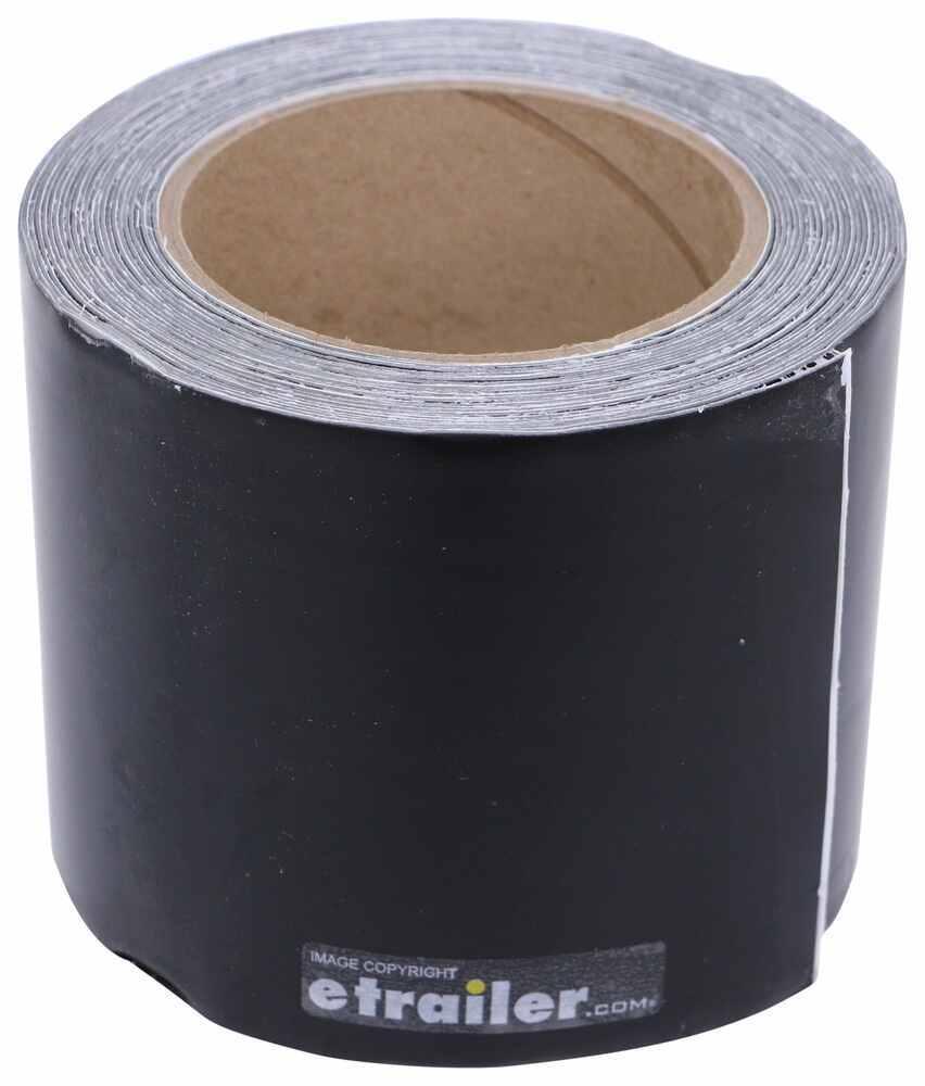 "RV Roof Repair Tape - 25' Long x 4"" Wide - Black 25 Feet Long QR37FR"