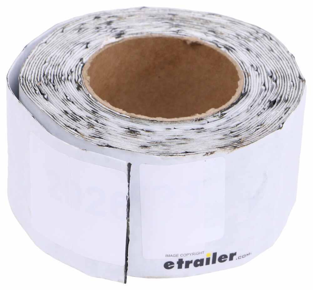 "Aluminum RV Roof Repair Tape - 25' Long x 3"" Wide - White Aluminum Tape QR96FR"
