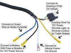 [ZTBE_9966]  Suitable 7-Way Wiring Harness for 2015 Nissan Frontier Pro4x | etrailer.com | 2015 Nissan Frontier Trailer Wiring |  | etrailer.com