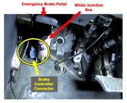 Locating Brake Controller Install Connector on 2004 Dodge Ram 1500 |  etrailer.com | 2002 Dodge Ram 1500 Trailer Brake Wiring Diagram |  | etrailer.com