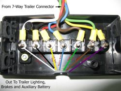 triton 7 way trailer wire diagram 7 way trailer wiring setup recommendation for a tandem axle  7 way trailer wiring setup