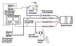 Tekonsha Voyager Brake Controller Activating When I Turn On Headlights |  etrailer.com | Voyager Trailer Brake Wiring Diagram |  | etrailer.com