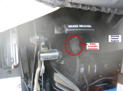 Location of Brake Controller Connector 2016 Ford F53 Motorhome Chassis |  etrailer.com | Ford F53 Trailer Wiring Diagram |  | etrailer.com